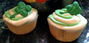 Irish Cupcakes